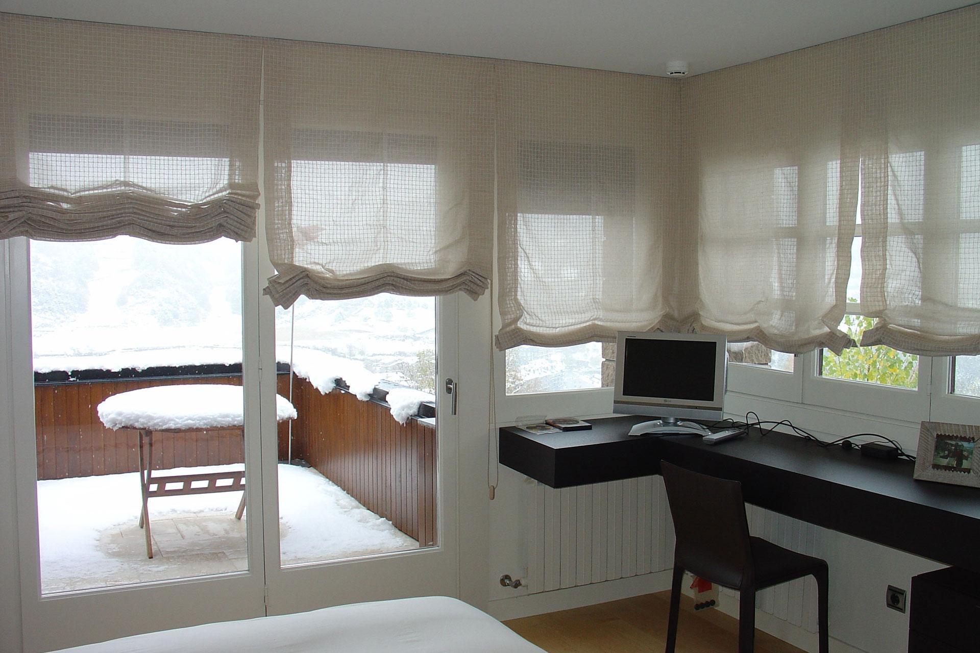 Cortinas a medida en barcelona cortinas vall s for Argollas para cortinas